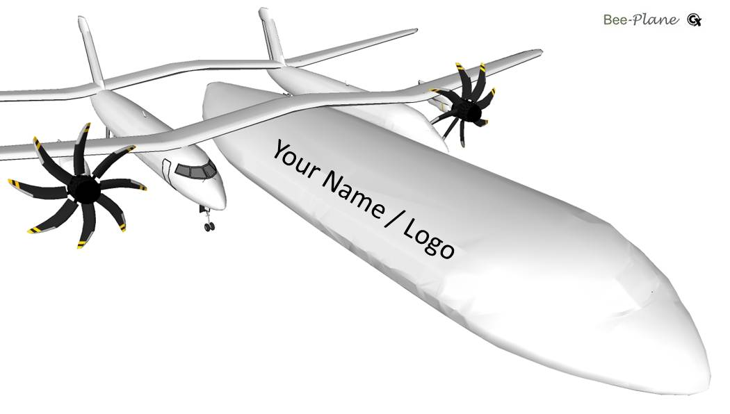 future airplanes beeplane