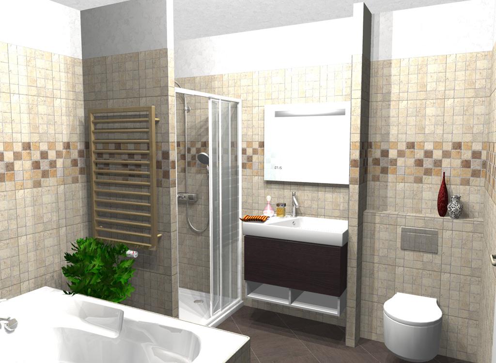 Salle de bain castorama 3d maison design for Carrelage 3d salle de bain