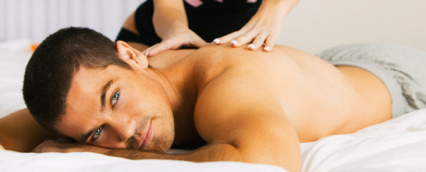 massage californien dos homme